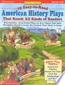 Ten Easy to read American History Plays
