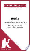 Atala de Chateaubriand   Les fun  railles d Atala