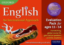 Oxford English  an International Approach Evaluation Pack Ages 11 14
