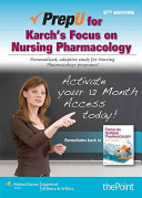 Rupert Lippincott s NCLEX RN Alternate Format Questions  Fifth Edition   PrepU for Karch s Focus on Nursing Pharmacology  Sixth Edition
