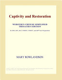 Captivity and Restoration  Webster s Chinese Simplified Thesaurus Edition