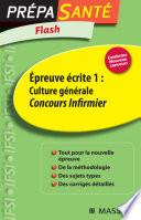 Flash   preuve   crite 1   Culture g  n  rale Concours Infirmier