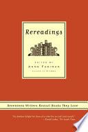 Rereadings Book PDF