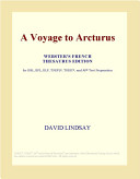 A Voyage to Arcturus  Webster s French Thesaurus Edition