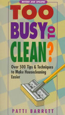 Too Busy to Clean
