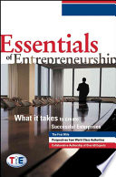 Essentials of Entrepreneurship