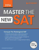 Master the New SAT 2016