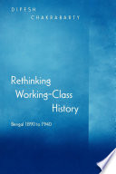Rethinking Working Class History book