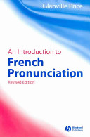 An Introduction to French Pronunciation