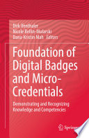 Foundation of Digital Badges and Micro Credentials