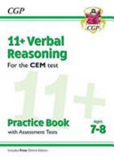 New 11+ CEM Verbal Reasoning Practice Book & Assessment Tests - Ages 7-8 (with Online Edition)