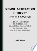 Online Arbitration In Theory And In Practice