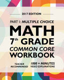 Argo Brothers Math Workbook  Grade 7
