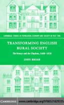 Transforming English Rural Society