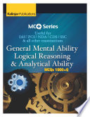 MCQ SERIES: Reasoning Analytical Ability (1000+ MCQ)