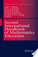 Second International Handbook Of Mathematics Education book