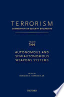 Terrorism  Commentary on Security Documents Volume 144