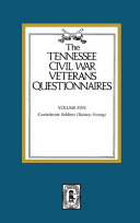 Tennessee Civil War Veterans Questionnaires  Confederate soldiers  Rainey Young