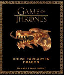 Game of Thrones Mask and Wall Mount   House Targaryen Dragon