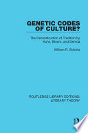 Genetic Codes of Culture