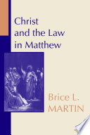 Christ and the Law in Matthew