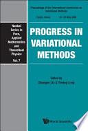 Progress In Variational Methods book