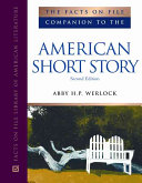 The Facts on File Companion to the American Short Story  M Z