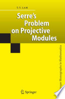Serre s Problem on Projective Modules