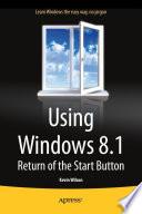 Using Windows 8 1
