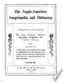 The Anglo American Encyclopedia and Dictionary  Dictionary department  A Z