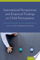 International Perspectives And Empirical Findings On Child Participation