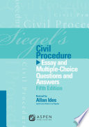 Siegel s Civil Procedure