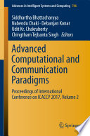 Advanced Computational and Communication Paradigms