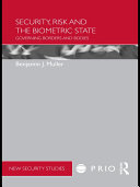 download ebook security, risk and the biometric state pdf epub
