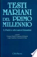 Testi mariani del primo millennio