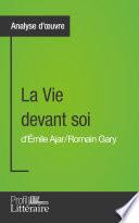La Vie devant soi de Romain Gary  Analyse approfondie
