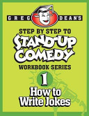 Step by Step to Stand Up Comedy   Workbook Series