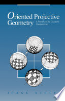 Oriented Projective Geometry