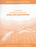 A Short Introduction to Stata for Biostatistics