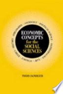 Economic Concepts for the Social Sciences
