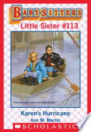 download ebook karen's hurricane (baby-sitters little sister #113) pdf epub