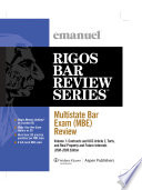 Multistate Bar Exam  Mbe  Review