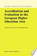 Accreditation and Evaluation in the European Higher Education Area