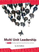 Multi Unit Leadership E Book Version