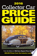 2016 Collector Car Price Guide
