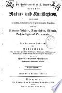 Neuerstes Natur- und Kunstlexikon