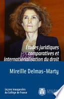 Tudes Juridiques Comparatives Et Internationalisation Du Droit