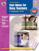 Fast Ideas for Busy Teachers  Language Arts  Grade 3