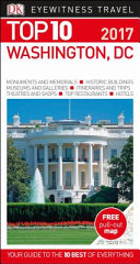 Eyewitness Top 10 Travel Guide  Washington DC