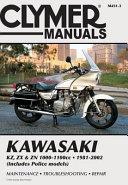 Kawasaki KZ  ZX   ZN 1000 1100cc 81 02